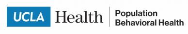Logo UCLA Health Population Behavioral Health